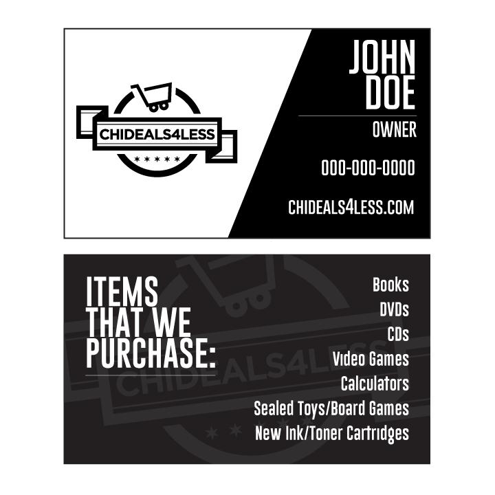 Business Cards — Hustler Hacks