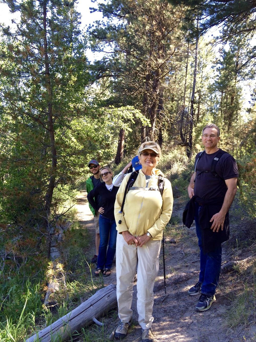 COLW Hike in La Pine State Park earlier this summer