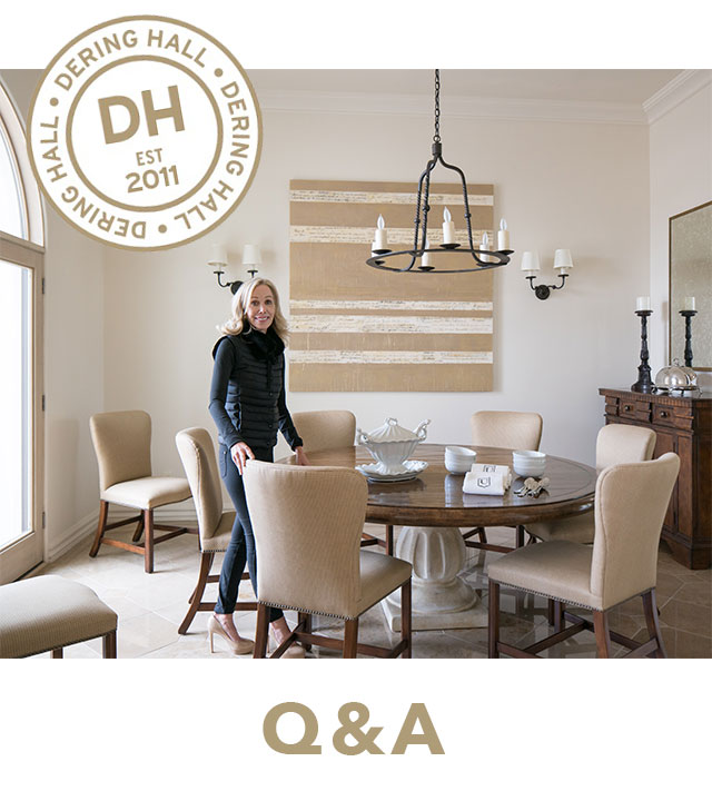 "Below is a sneak peak of Dana Lyon's Q&A with Executive Editor Dennis Sarlo of Dering Hall. They talk about the launch of her new book, "" REFINED-Design for Living Well "" and her wish list for future designs.   Q: How did you decide to write and publish a book?    A: I have always been a design book junkie. I've collected them for years and have admired so many designers' work. I wanted to create something that was top quality and put a stake in the ground for refined interiors that are well thought out but also simple and edited. The silver and gold packaging for the book looks timeless on a coffee table as well! As designers, we're all out there sharing our ideas one home at a time.   Q: Your firm is also known for making sure that clients are ""living well."" What does this mean to you?    A: We look to clients for what inspires their daily lives and try to incorporate that into the home in a meaningful way. We also take into account the natural surroundings, space, and light and accentuate all the positives. Additionally, we try to incorporate technology in a seamless way to make our clients' homes more comfortable. Our homes should be sanctuaries that allow us to enjoy life.  To read the full interview  CLICK HERE     REFINED-DESIGN FOR LIVING WELL  is a perfect holiday gift to enhance any coffee table! See more of Dana's REFINED HOLIDAY PICKS below!"