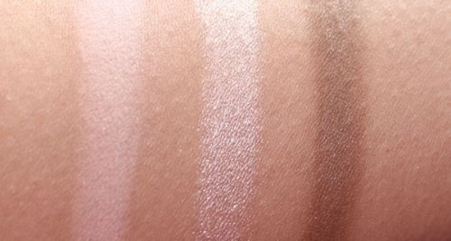 L-R: Eyeshadows - 1. Eye Prime, 2. Eye Enhance and 3. Eye Smoke