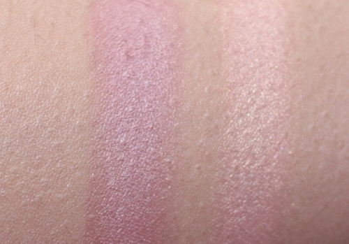 L-R- Plum Rose and Natural Glow