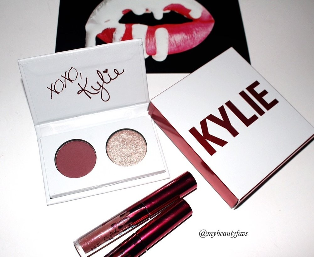 Eyeshadow Duo Valentine's Day Collection - Smooch by Kylie Cosmetics #10