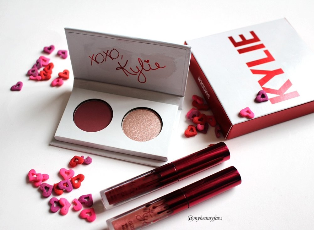 Eyeshadow Duo Valentine's Day Collection - Smooch by Kylie Cosmetics #6