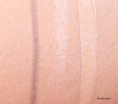 L-R: Brow Lift - Superrmodel and highlighter shade, The Retoucher 3 Medium