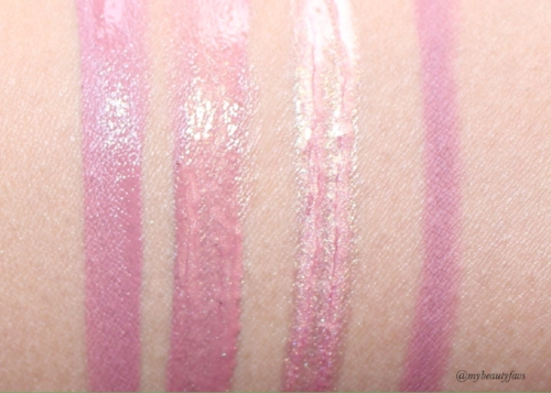 Muse Liquid Matte, Muse and Angelic, Angelic and Muse Lip Contour
