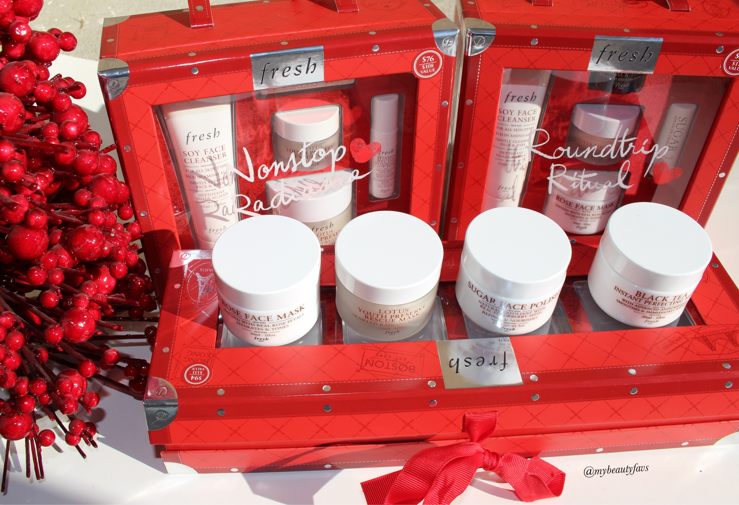 Holiday Glow Skincare Set By Fresh