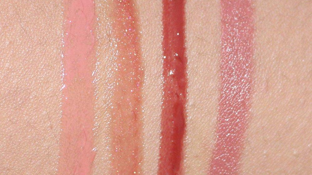 L-R: Big Trouble, Bite, Noise and Sheena Audacious Lipstick
