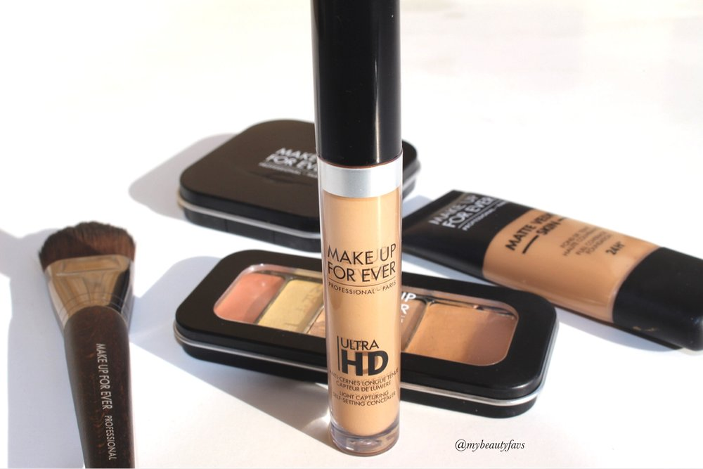 MUFE Ultra HD Self-Setting Concealer - Shade #44 Review and Swatch