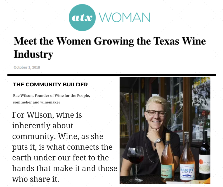 Austin Woman wine for the people dandy rosé texas wine.png