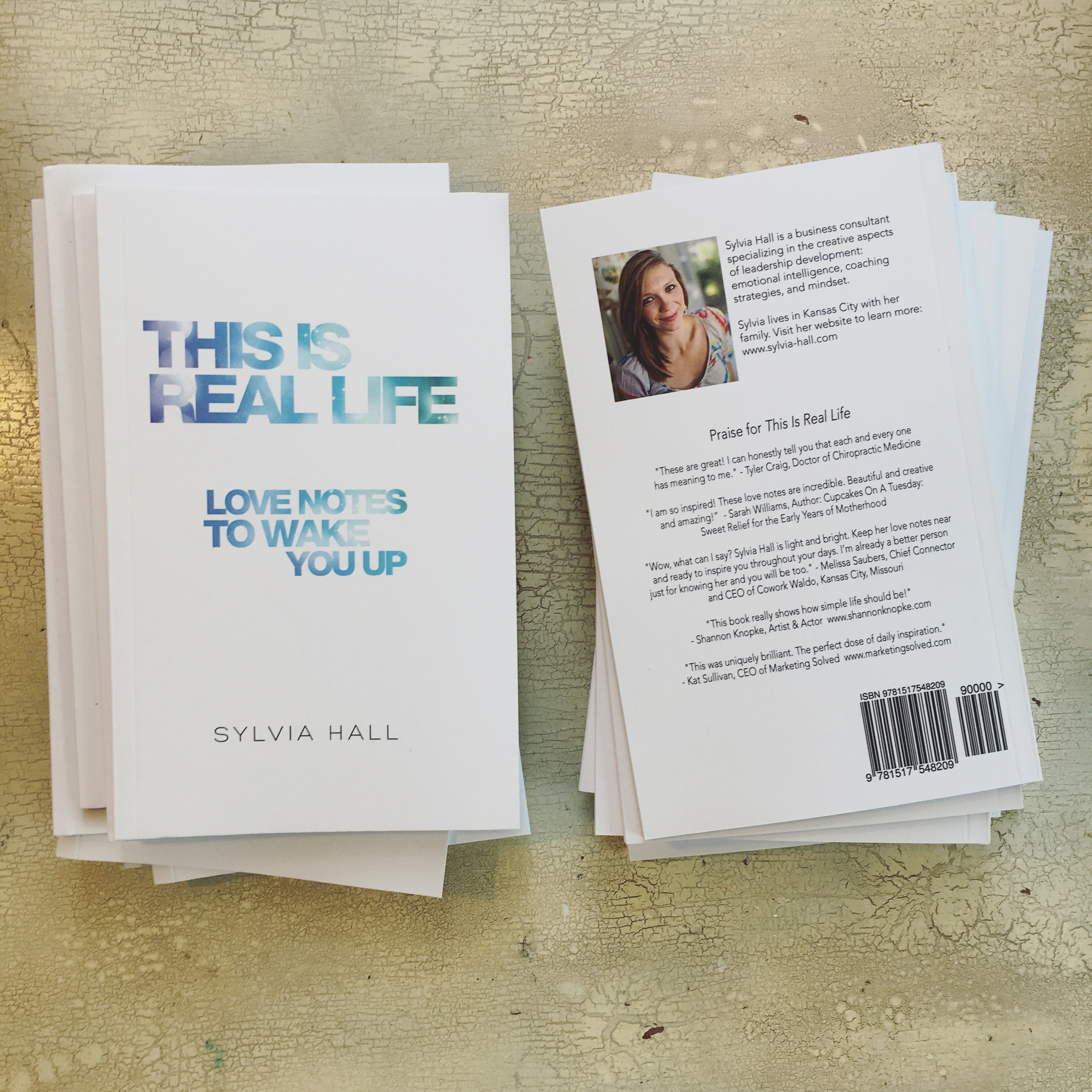 Sylvia Hall: This Is Real Life: Love Notes To Wake You Up