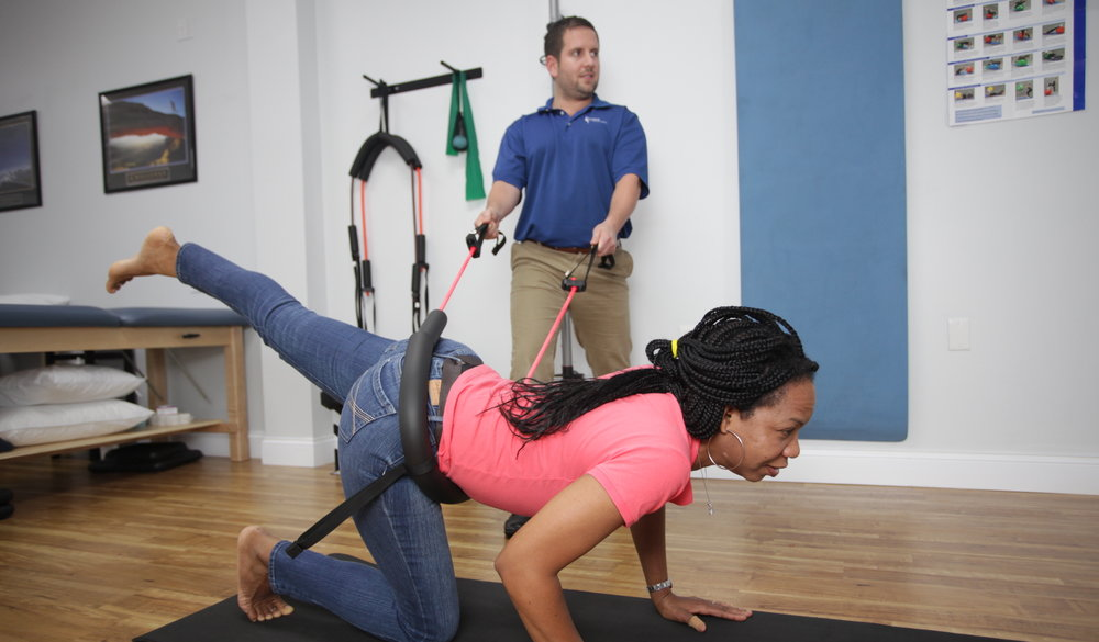 img Assisted Quadruped Hip Extension