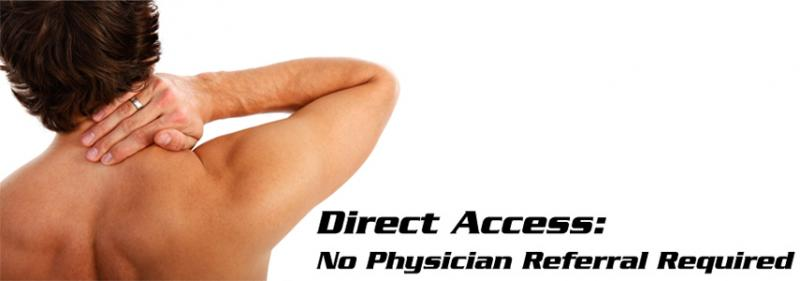 img Direct Acess:  Quicker Access, Quicker Improvement, Less (Logistical) Headaches!