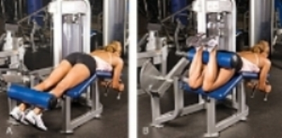 hamstring+curl Maintaining Spine Health:  Machines To Avoid At the Gym