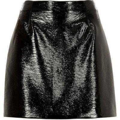 Vinyl skirt