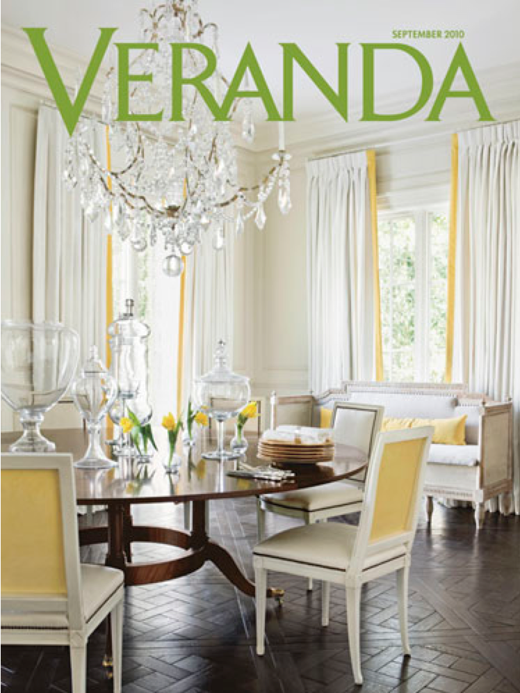 Featured in the September 2010 issue of   Veranda   magazine.