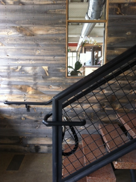 Image of handrail courtesy of  Utah Style & Design .