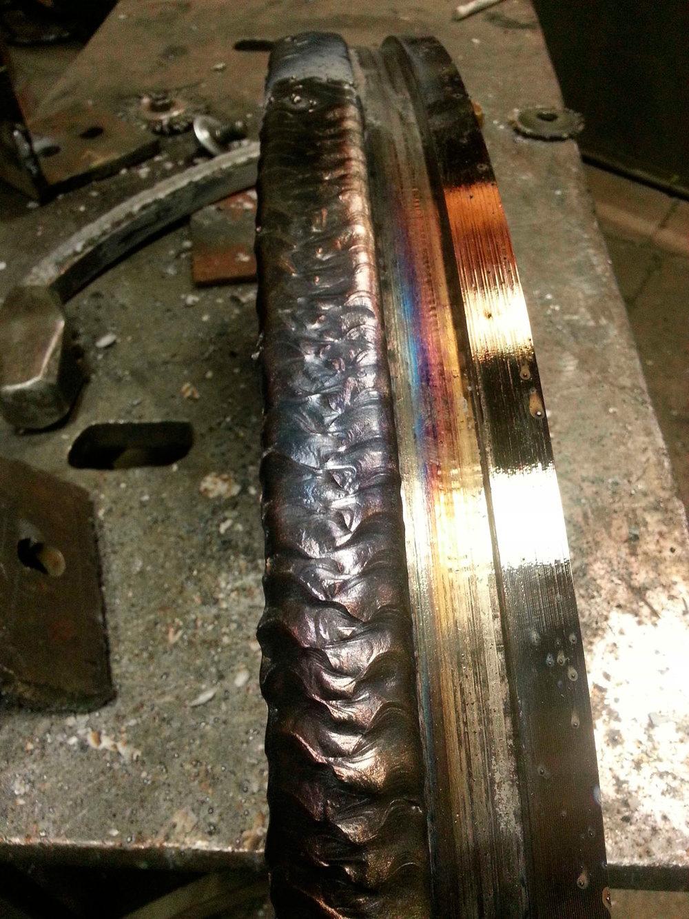 Hardfacing lincore 55