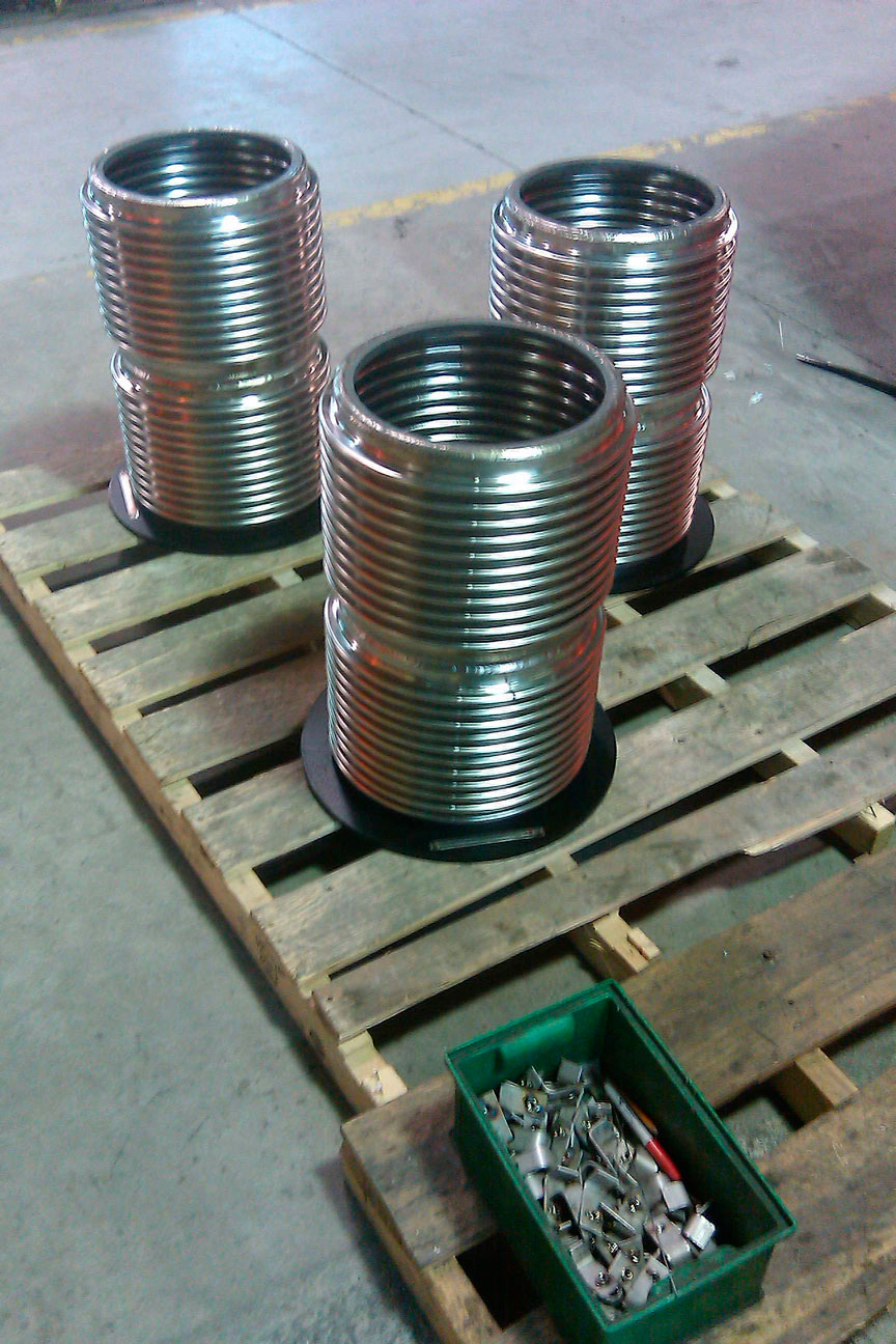 Inconel bellows