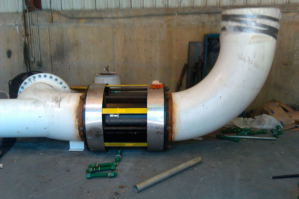 Large spool for Korean liquid oxygen plant, American BOA