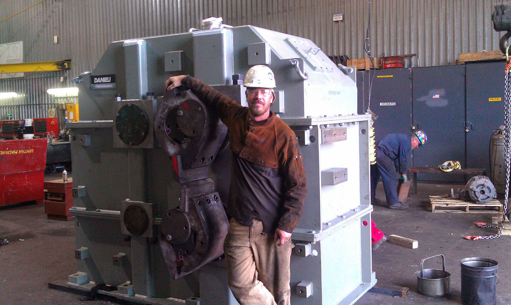 Nucor, shutdown rotary shear