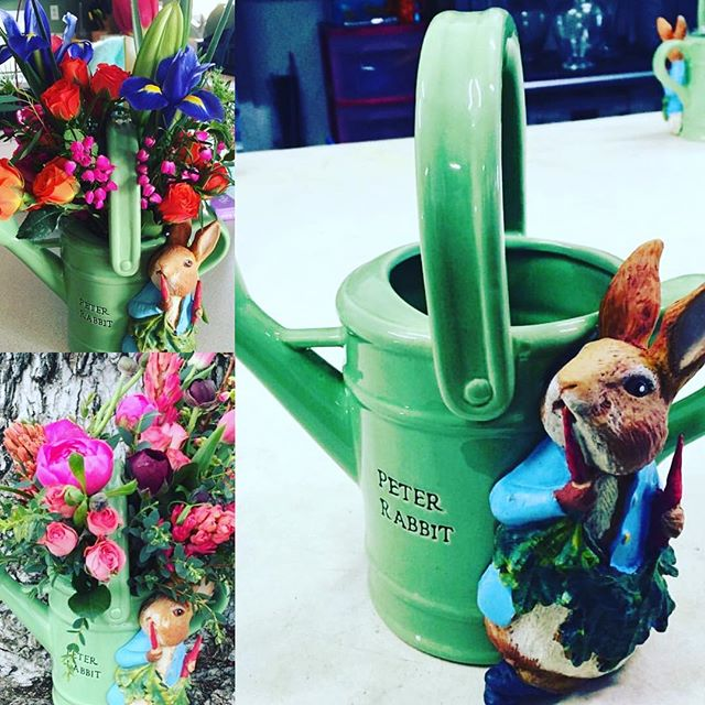 Found some Peter Rabbit containers in my Easter stuff! Super sweet ceramic keepsake! $60 easter special!! Your choice of colors! Call us for delivery or pick up!! 775.420.2187 🐰👒🌷