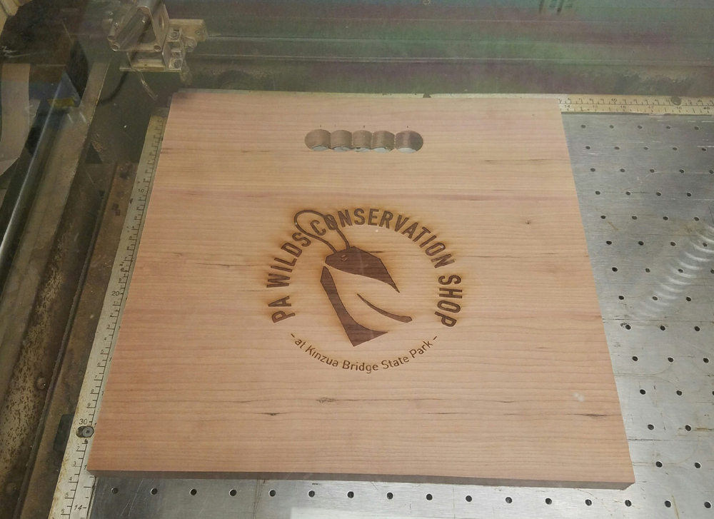 Engraved Crate Panel