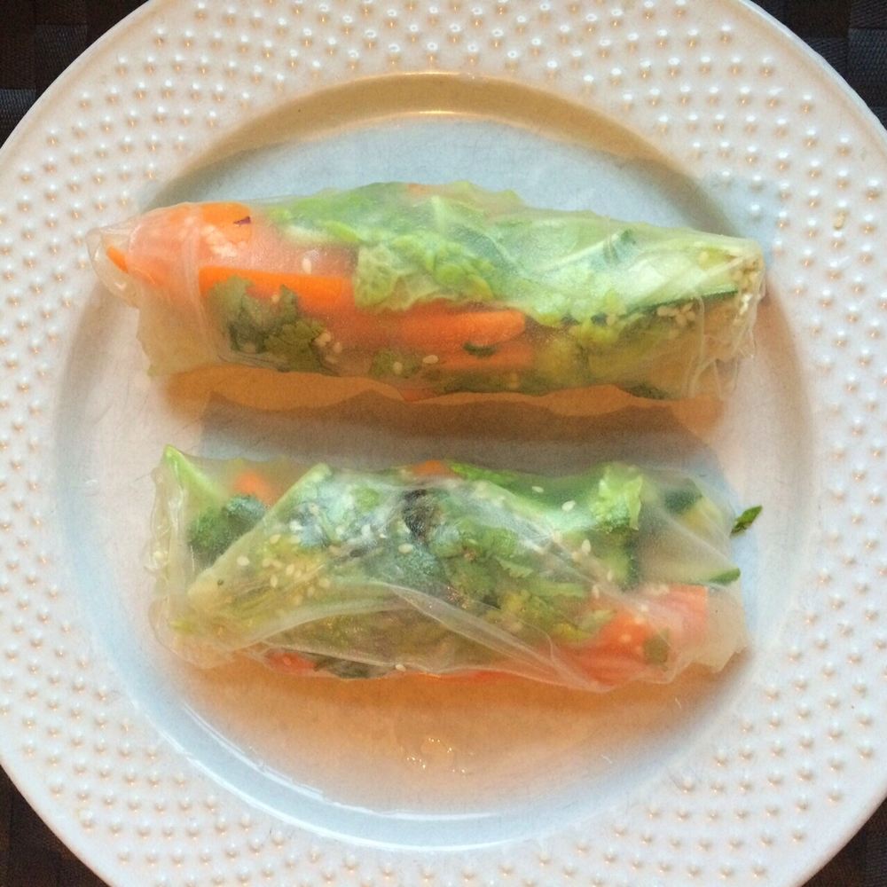 Summer Rolls Recipe VegansofLDN