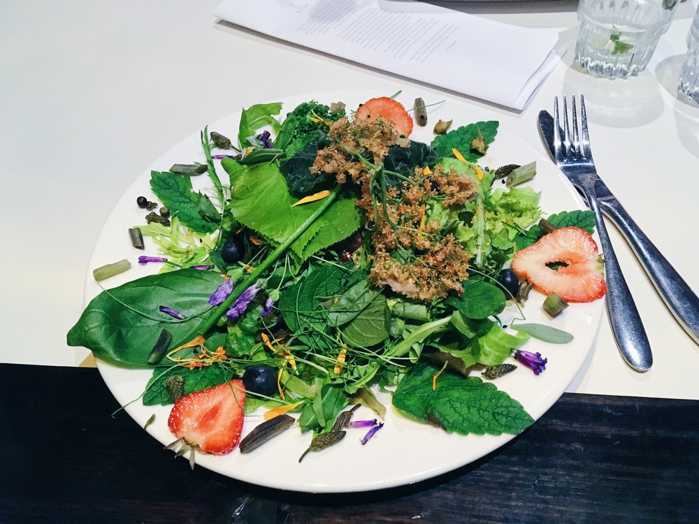 Herb Lab Supper Club Dalston London Vegan Dinner Review - VegansofLDN / Vegans of LDN