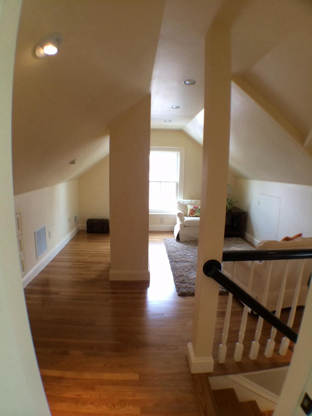 Renovated attic