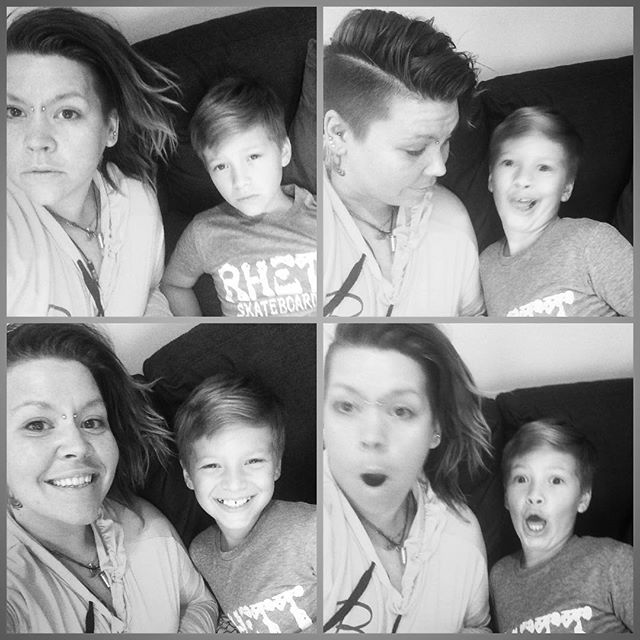 Photo fun with Leo !!#cutestnephewever  we have had so much fun this weekend! I will miss you!
