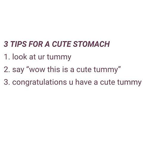 This is how I got my cute tummy! #loveyourself #talkpositive #keepmovingforward #mirror