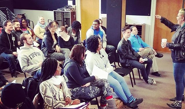 I had a blast with Tiffin University on Monday! I loved listening to new songwriters and creatives while dropping knowledge! Thanks TU! ❤❤❤👊❤❤❤