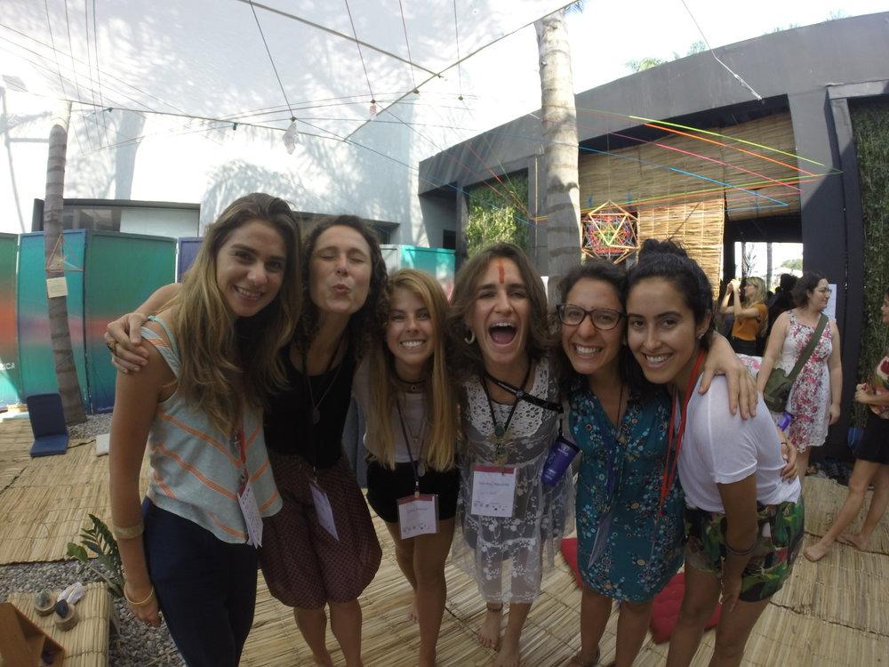 Facilitadoras: Luiza Portella, Fernanda Leite, Luisa Diebold, Vanessa Moutinho, Marina Nickolayevsky, Nathalia Manso
