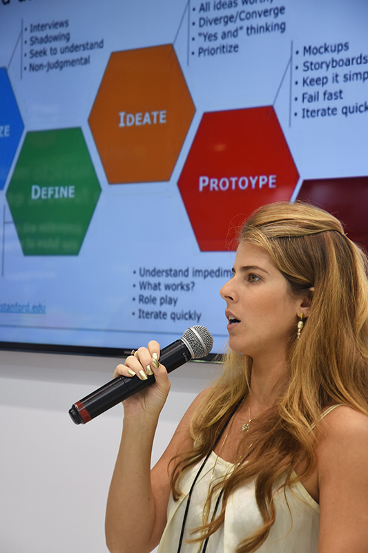 Workshop de Design Thinking na Rio Oil & Gas 2018