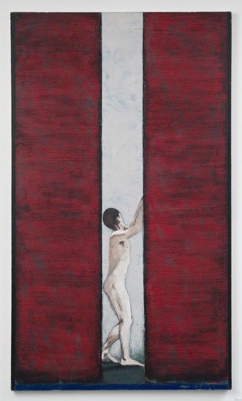 Man in a Red Door, 1990