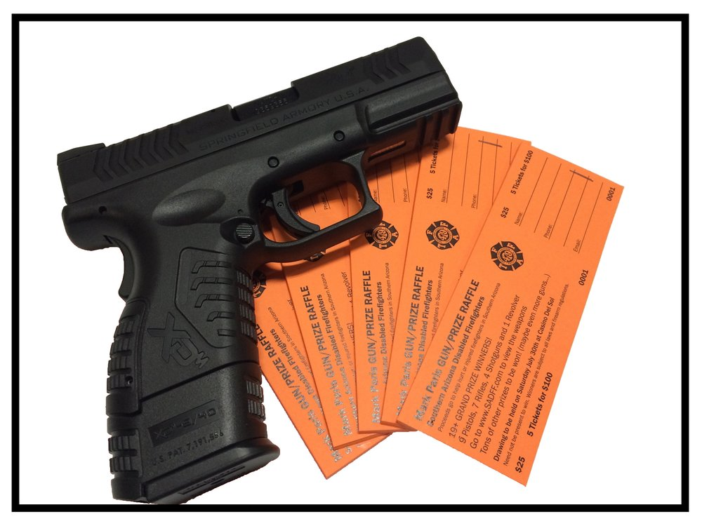 Click to Purchase Gun Raffle Tickets.