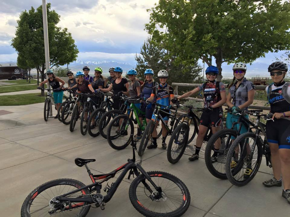 Women's MTB Ride - May 2016 - Corner Canyon, Draper UT