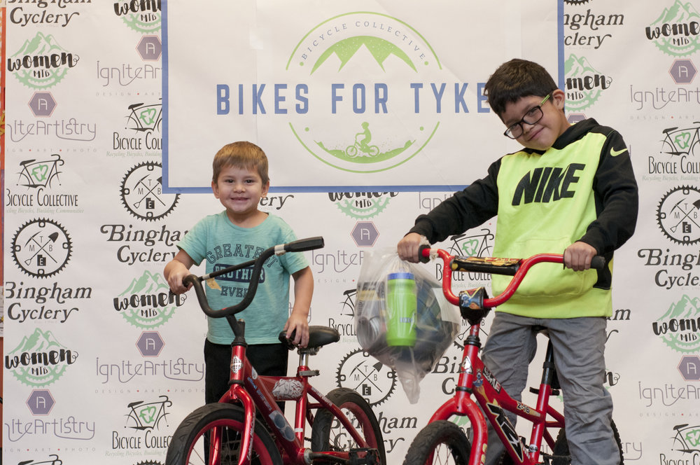 """I want a bike to take a ride with my dad and my brother.  I [would] like to ride a bicycle in a park, thats what I [would] like to do in the summer of the following year. I hope that is possible, thank you!"" ~Gaspar - Pictured is Gaspar and his brother who both received new bikes at last years event."