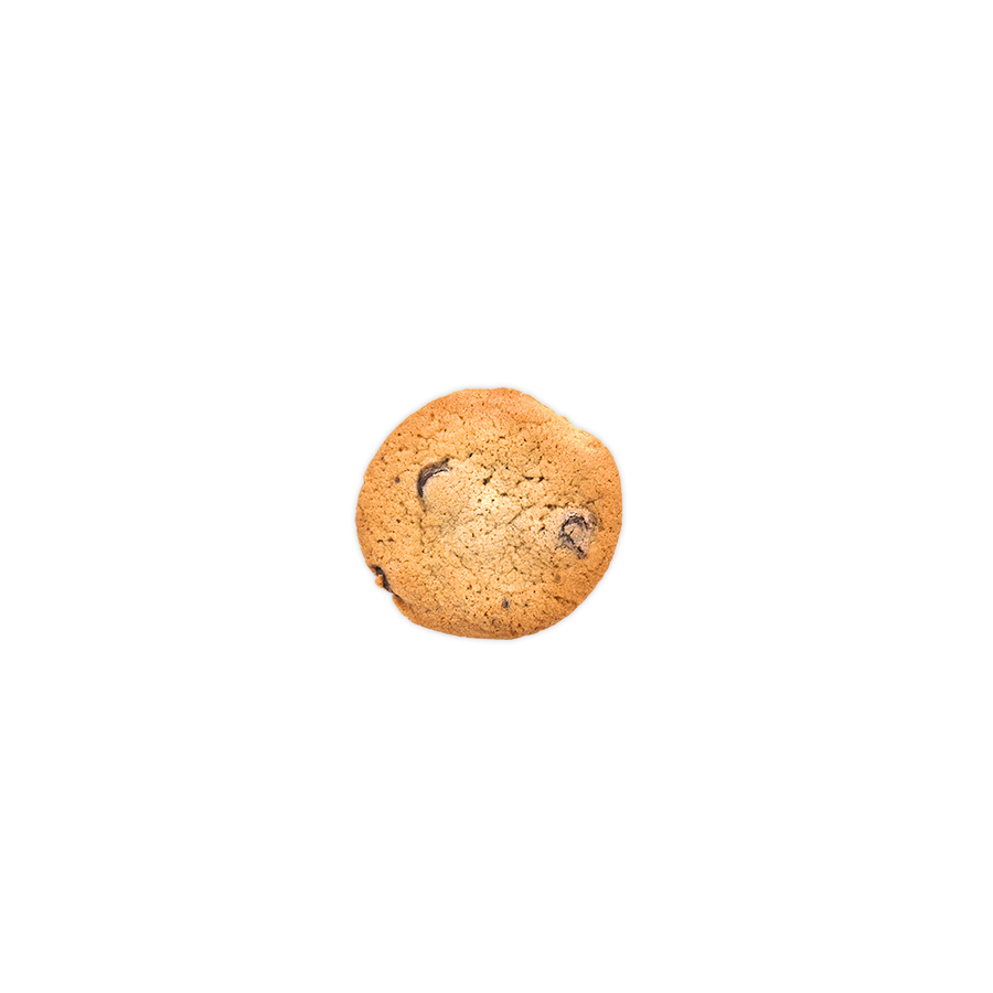 Chocolate Chip Cookie Bite <br> 40 Mg