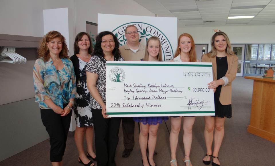 Heritage Trust 2014 Scholarship winners