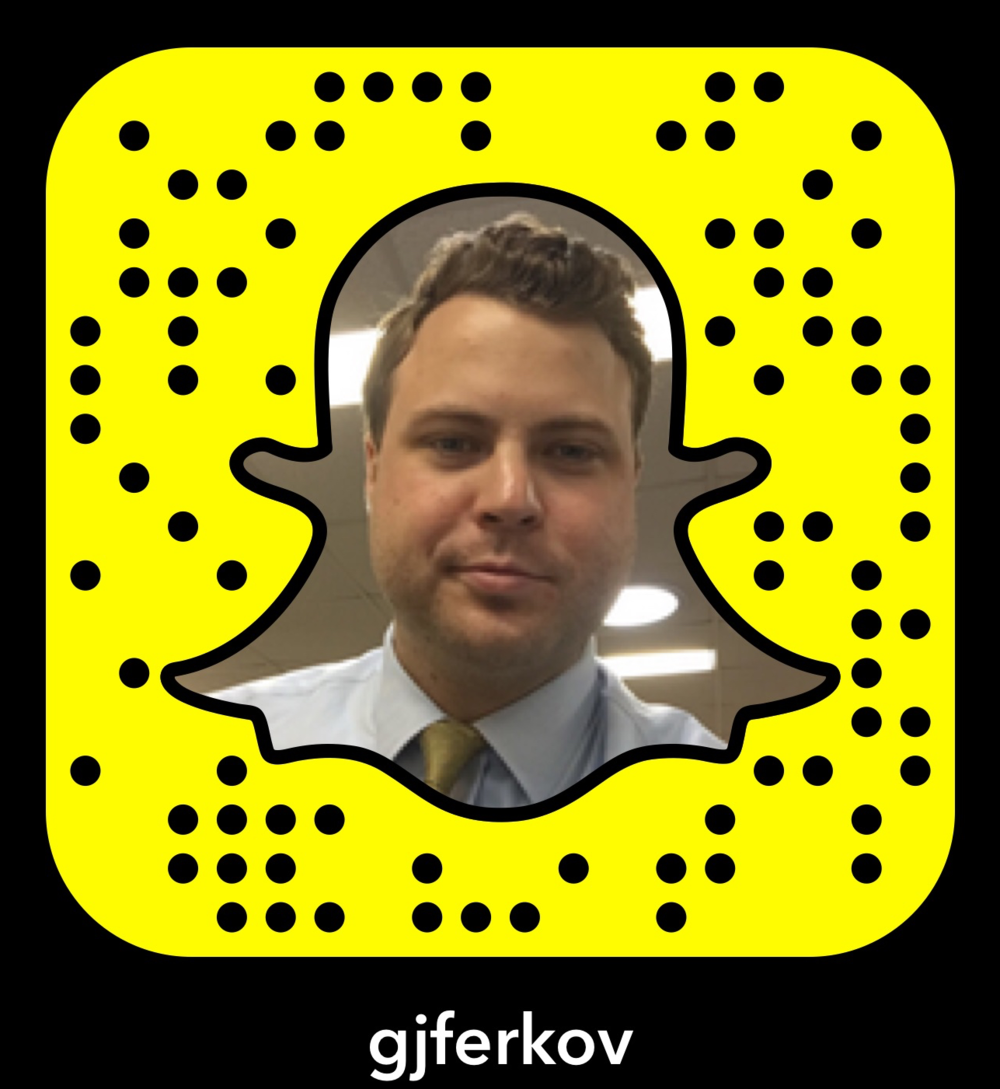 Follow George Ferko on Snapchat