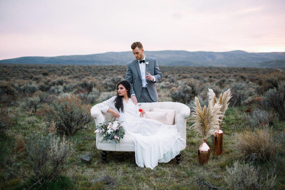 Styled Desert Elopement | Adorn Magazine
