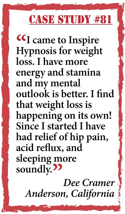 inspire hypnosis case study #81.