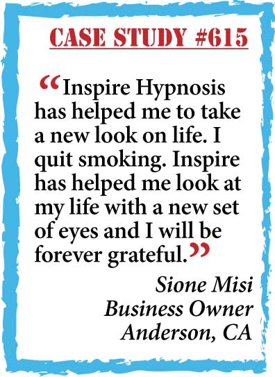 inspire hypnosis case study #615.