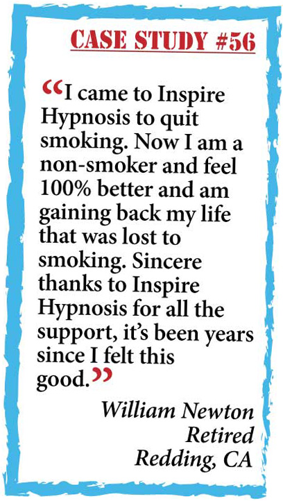 inspire hypnosis case study #56.