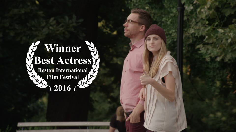 Winner of Indie Spirit Best Actress! - We took home the Indie Spirit Best Actress awardat the Boston International Film Festival. Thank you so much BIFF for this honor and for such a great World Premiere!