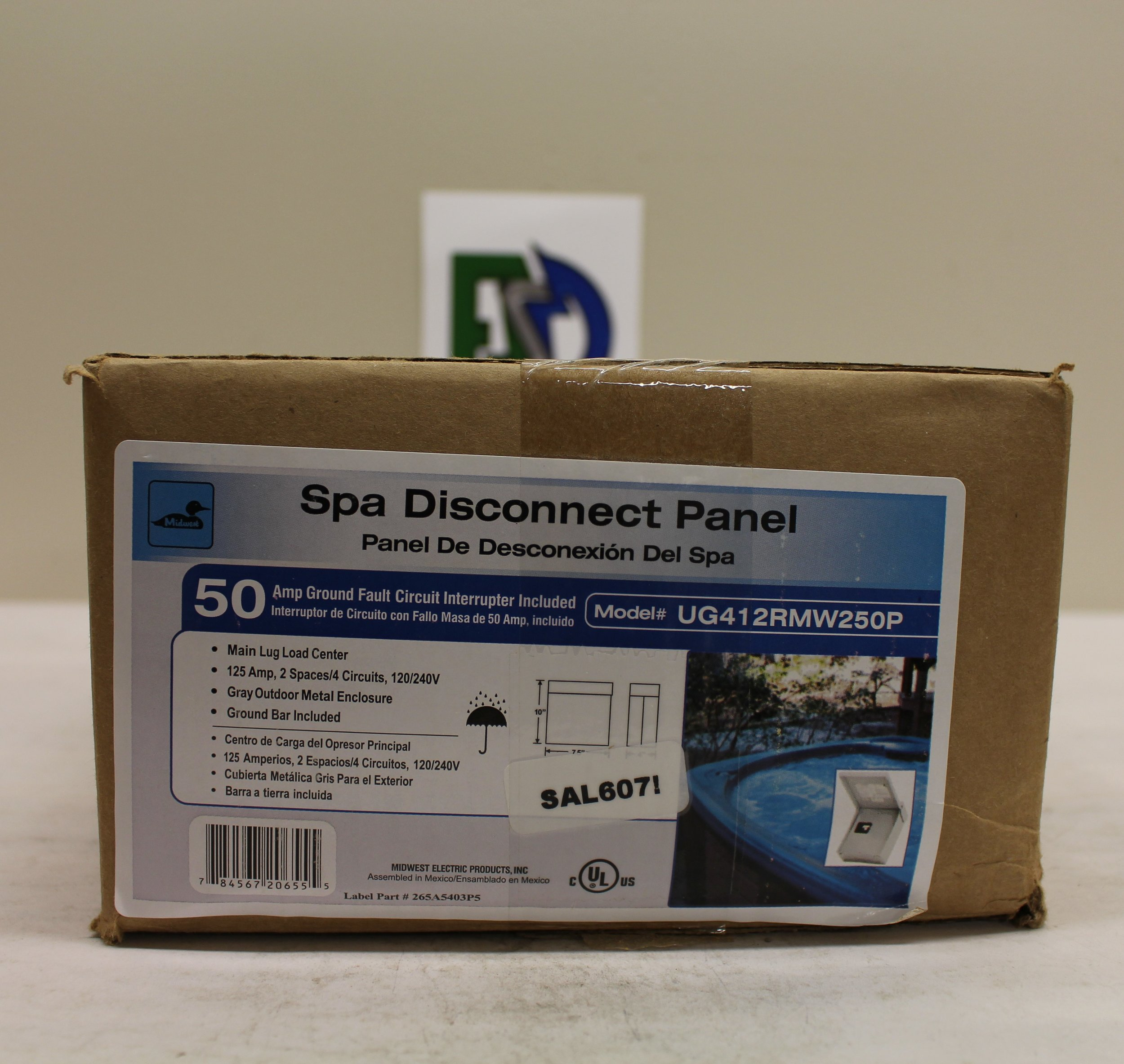Electrical Surplus Distribution Llc Have A E Mail Us At Info Midwest Spa Disconnect Panel Wiring Diagram Misc Panels