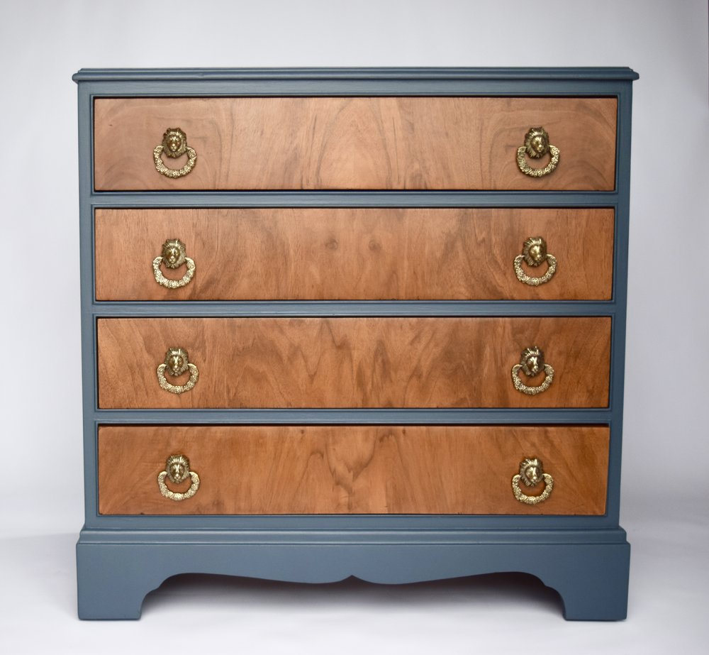 REGENCY STYLE VINTAGE DRAWERS
