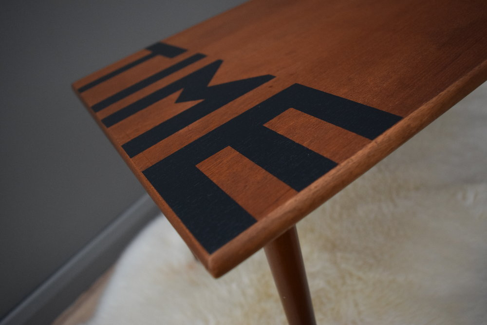 MID-CENTURY TIME COFFEE TABLE