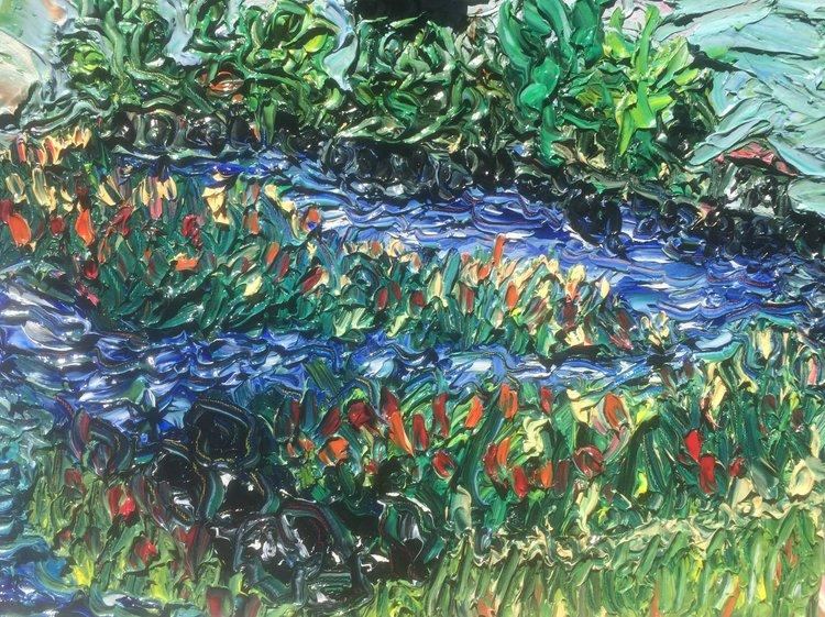 Avondale - oil on canvas 18